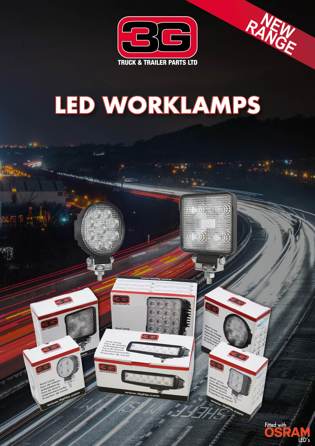 LED Work Lamps Image coming soon. Click to view full catalogue